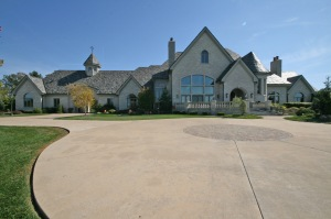 Allen house front
