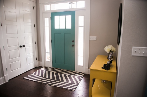 creating an inviting entryway