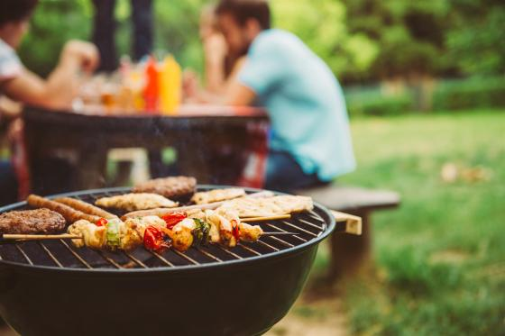 backyard grilling party