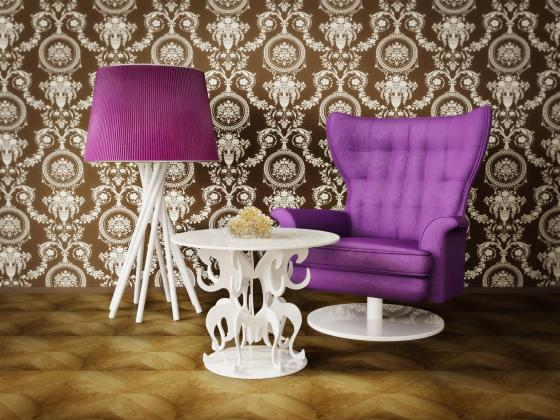 ultraviolet decor