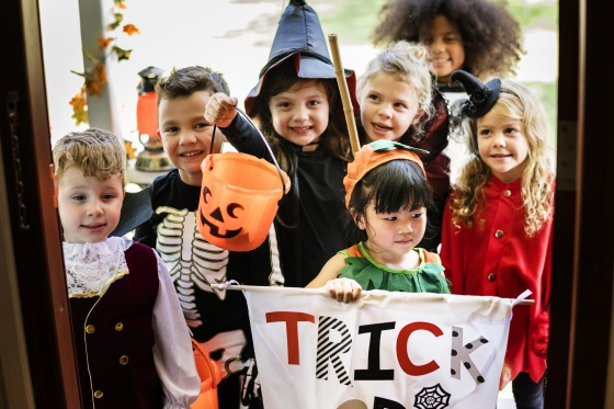 trick or treating etiquette