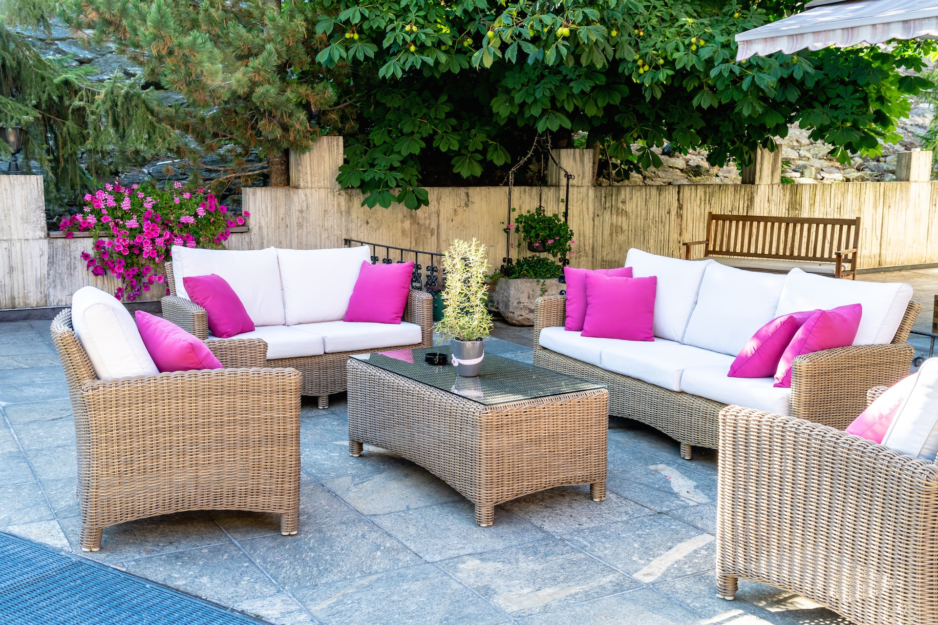 outdoor space for summer fun