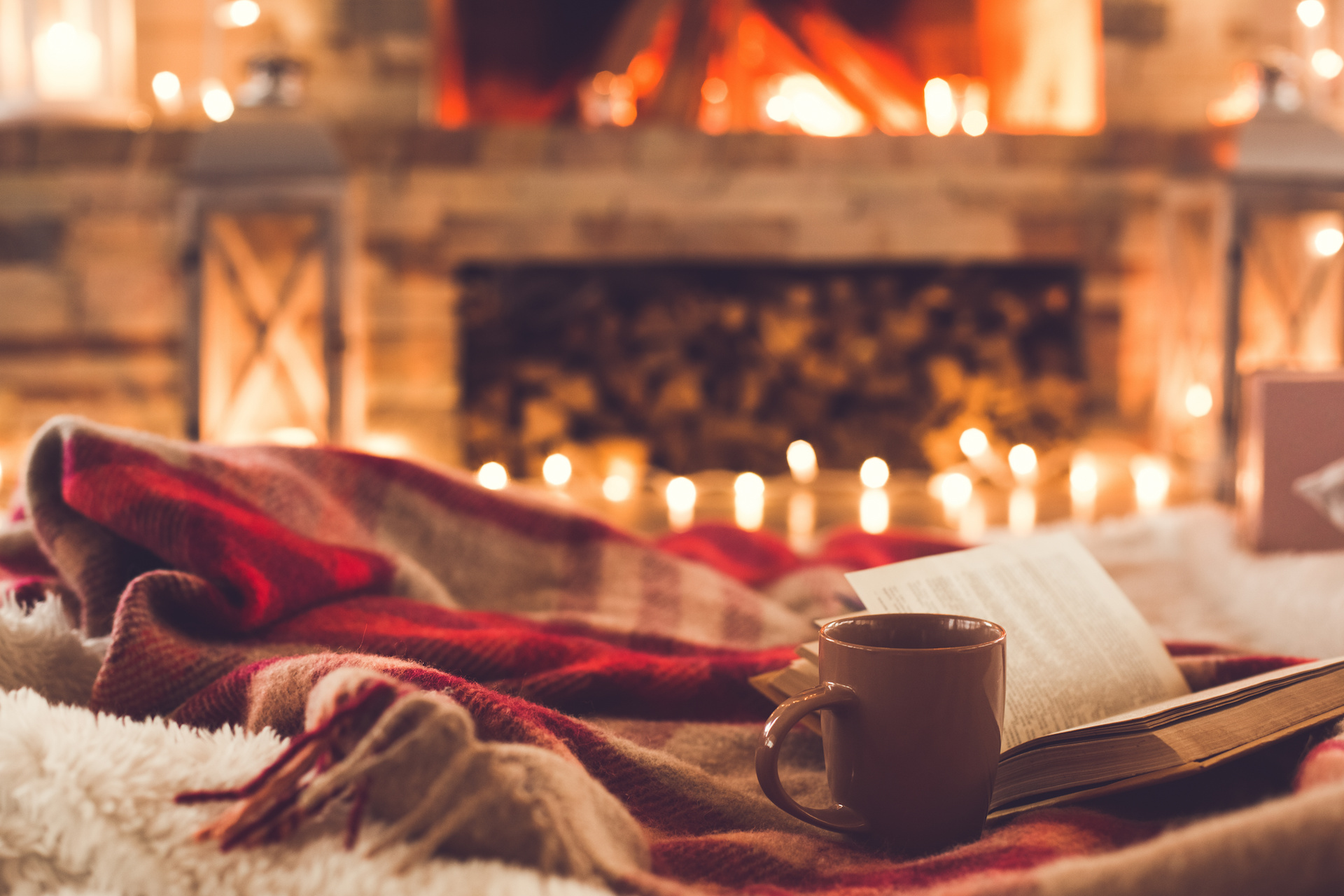 how to make home cozy this winter